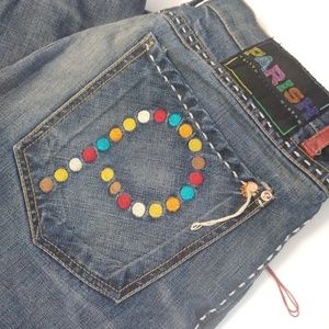 🌈Parish Jeans multicolor